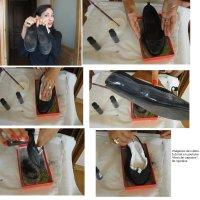 Reciclar y modernizar zapatos viejos