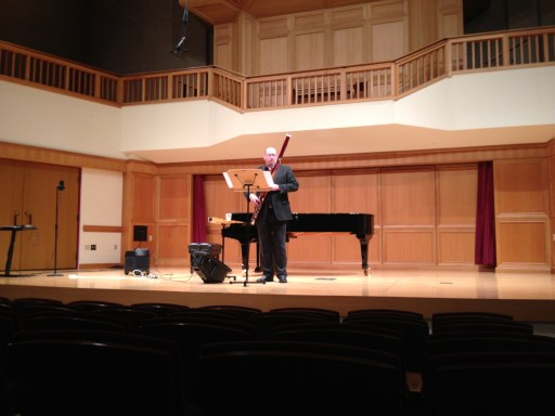 Jeff Campbell performing Concertino