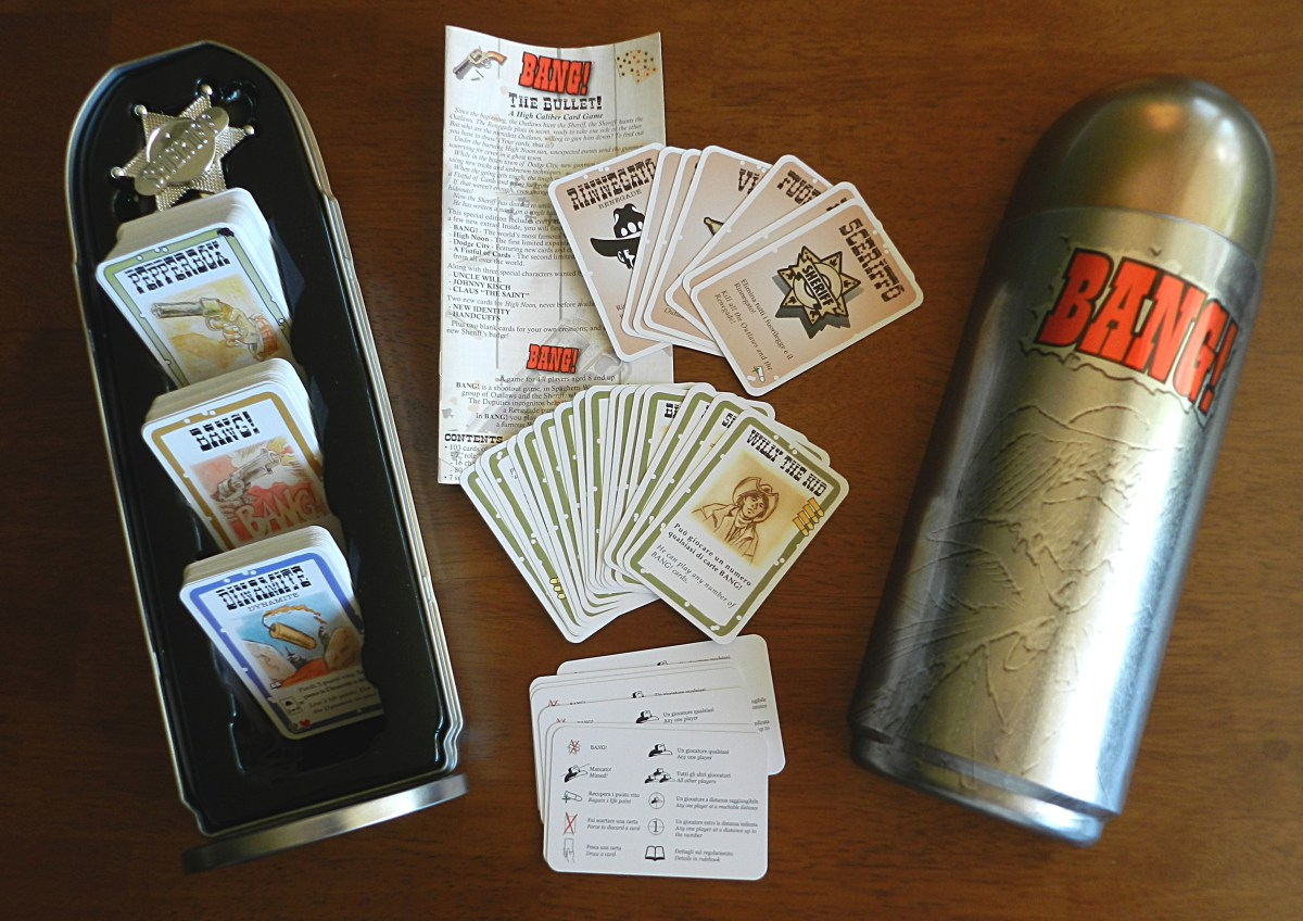 Bang is a dangerously fun card game