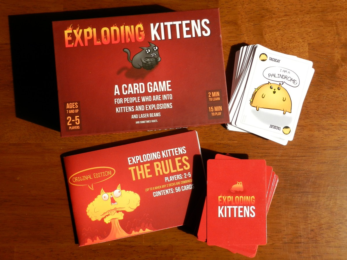 Why I changed my mind about Exploding Kittens