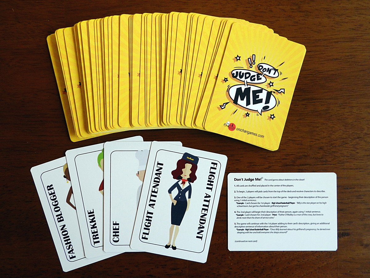Don't Judge Me: A party game you shouldn't judge before you play