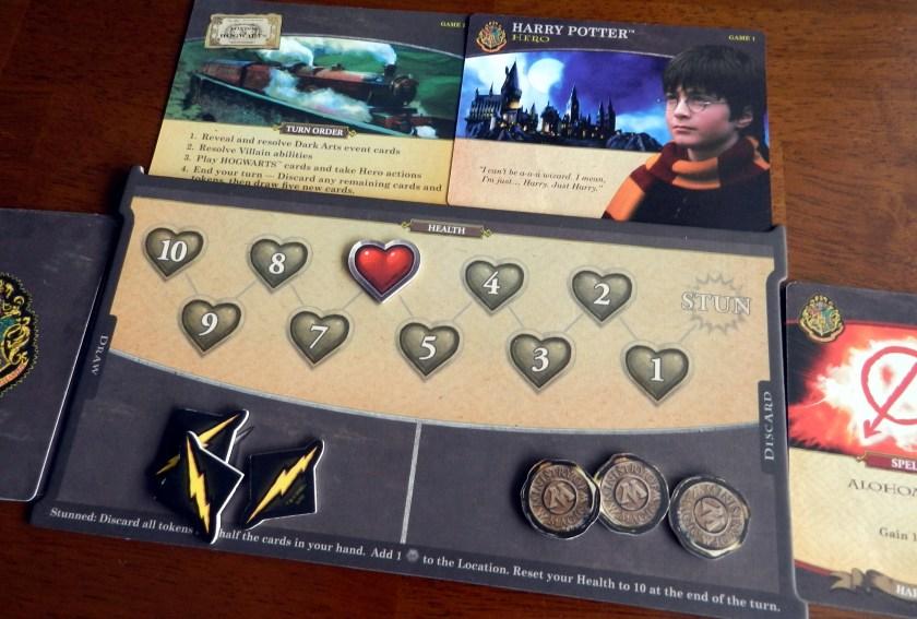 Harry Potter Deck Building Game Coins