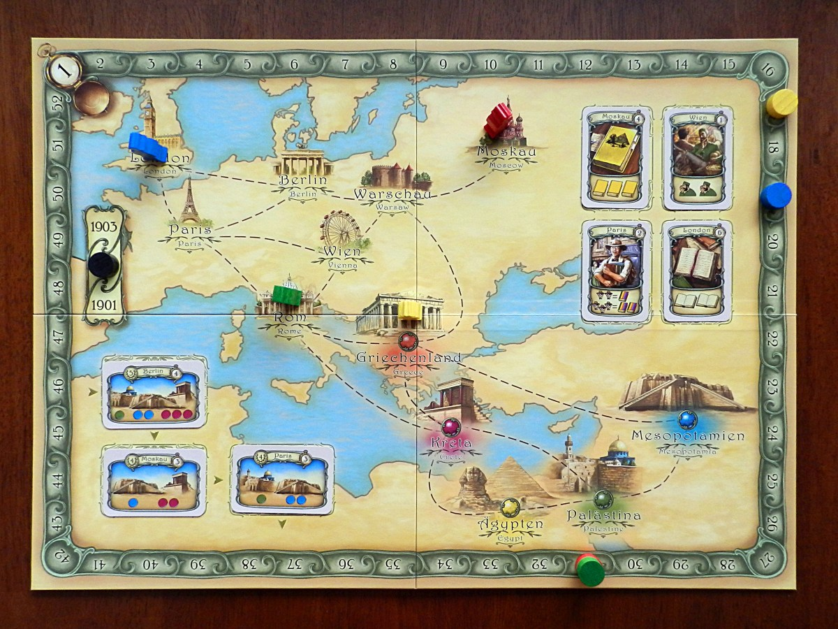 Is Thebes the Ticket to Ride of archaeology board games?