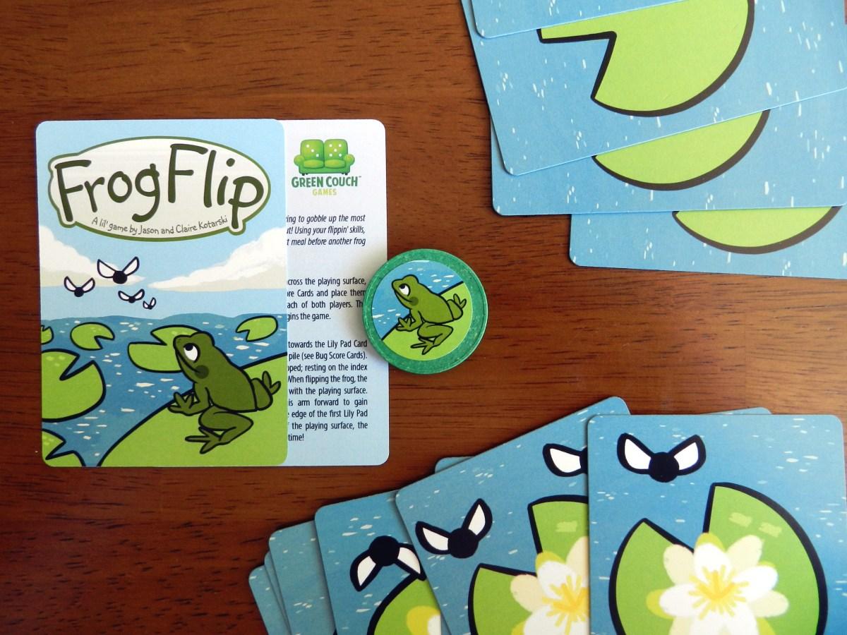 FrogFlip is flipping fun