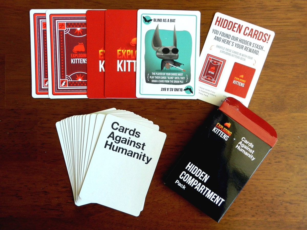 A treasure hunt for Cards Against Humanity and Exploding Kittens' latest expansion