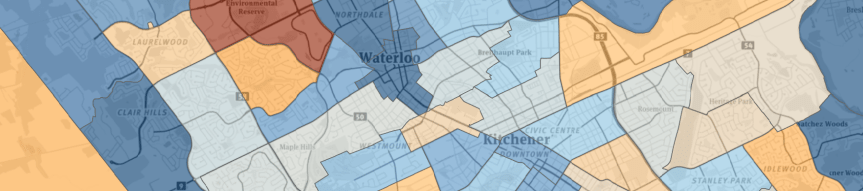 Kitchener-Waterloo-Cambridge Population Change, 2011 to 2016
