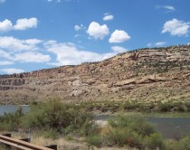 Along I70 east of Grand Junction