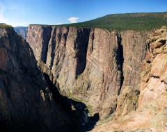 black canyon of the gunnison north rim