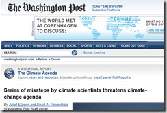 Series of missteps by climate scientists threatens climate-change  agenda