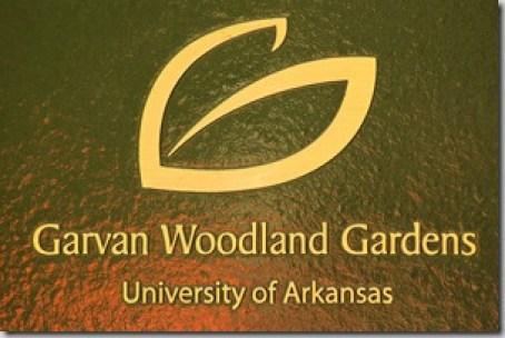 Garvan Woodland Gardens sign