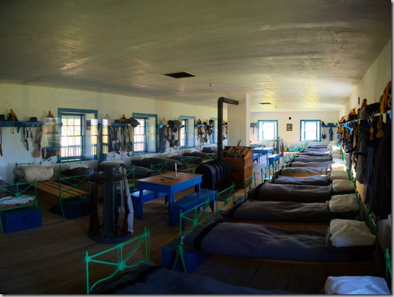 Barracks at Fort Laramie, Wyoming