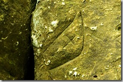 Indian Cave State Park, Nebraska, petroglyph-b