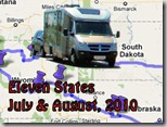 eleven states, july and august 2010