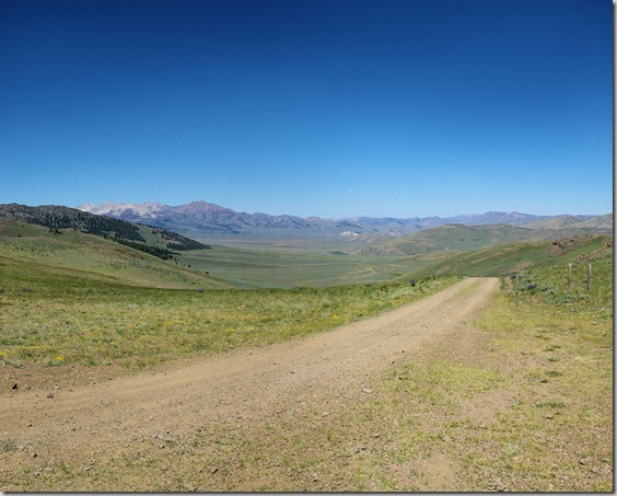 Antelope Valley to Antelope Pass – July 25, 2010, Idaho, Antelope Pass, looking ahead into Copper Basin.