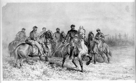 A Scouting Party - The Civil War Art of Edwin Forbes