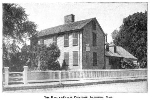 The Hancock-Clarke Parsonage, Lexington, Massachusetts