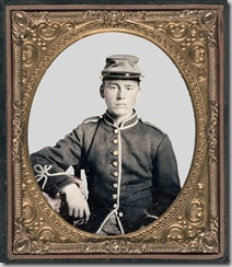 Unidentified young soldier in New York Zouave uniform