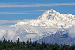 Denali from McKinley Princess Lodge, right