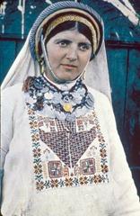 Ramallah woman in native costume