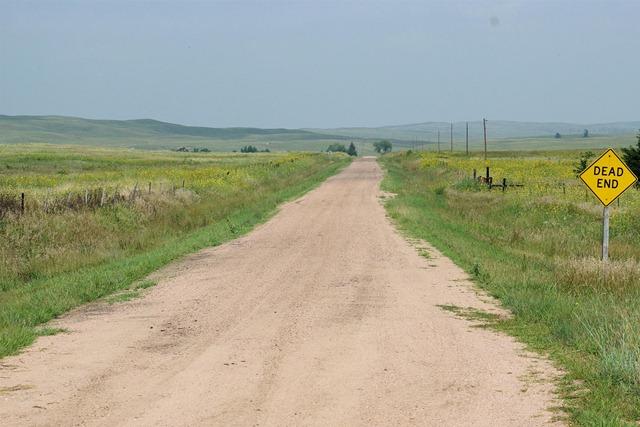 7 miles to the end... if ya can make it - Nebraska sandhills