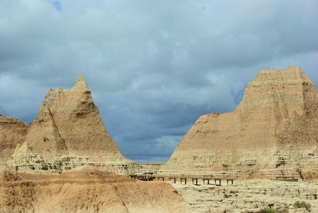 Badlands National Park, South Dakota, August 23, 2007