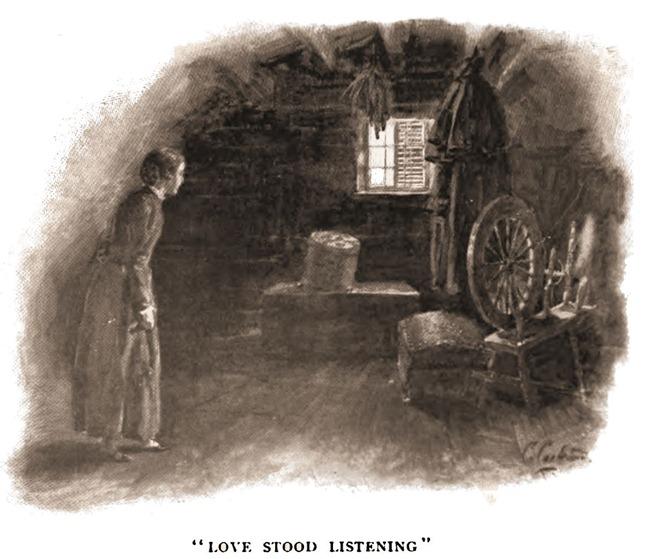 love stood listening