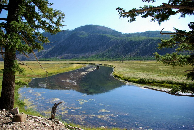 Madison River, Yellowstone National Park, Wyoming, September 11, 2007