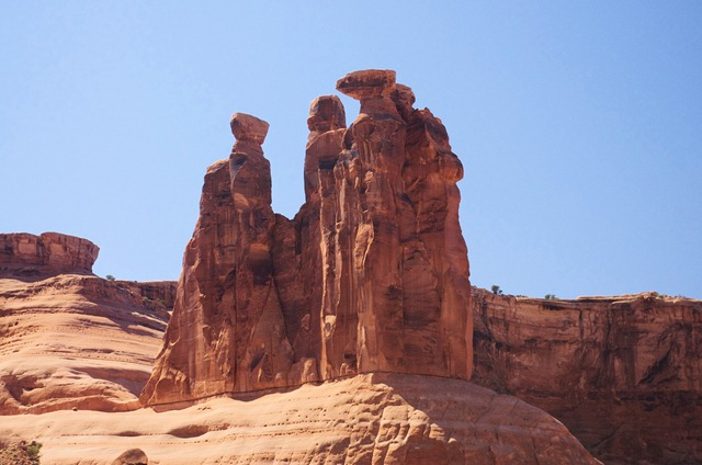 Three gossips, Arches National Park, September 22, 2011