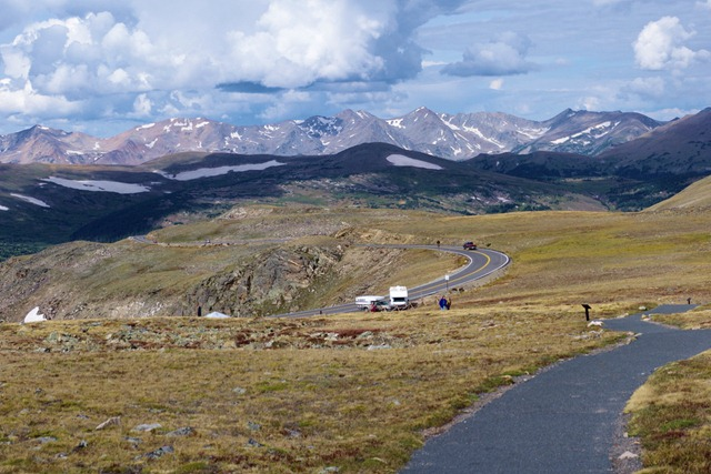 A trip over Trail Ridge Road and back, Rocky Mountain National Park, September 14, 2011