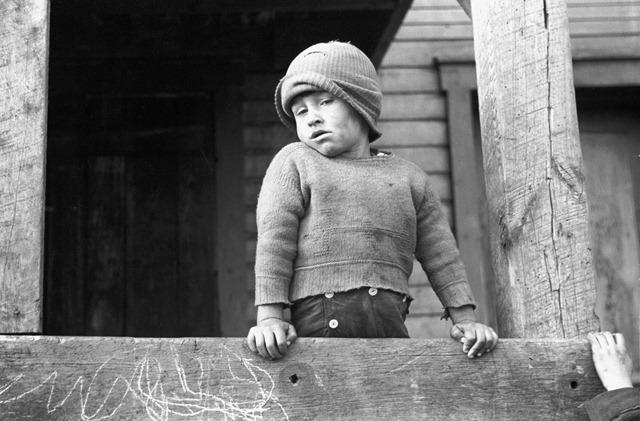 Coal miner's son, Kempton, West Virginia