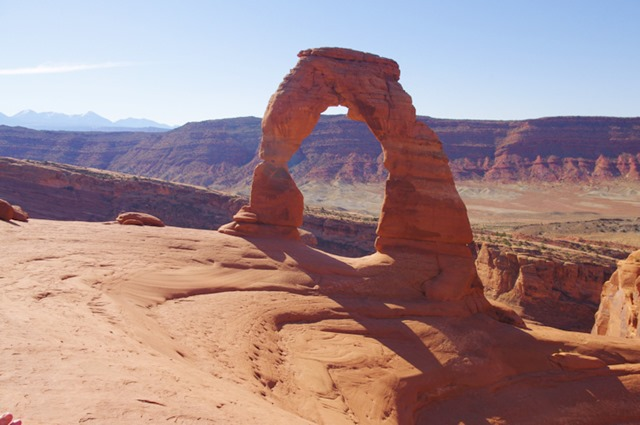 Delicate Arch, Arches National Park, Utah, 9-21-2011