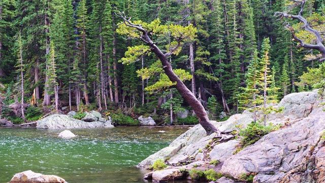 Dream Lake, Rocky Mountain National Park, Sept. 15, 2011