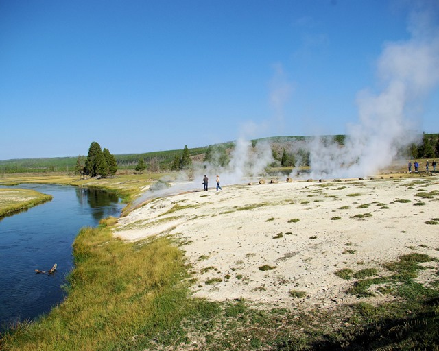 Ojo Caliente Spring, Yellowstone National Park, Wyoming, September 12, 2007