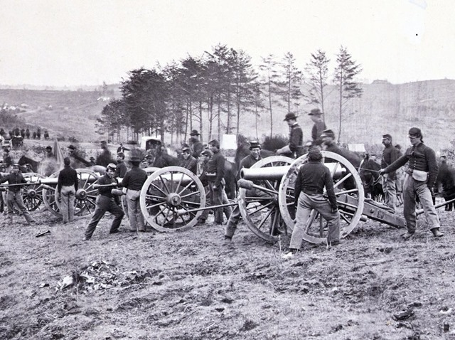 1st Connecticut Battery, near Fredericksburg, Va., May 2, 1863