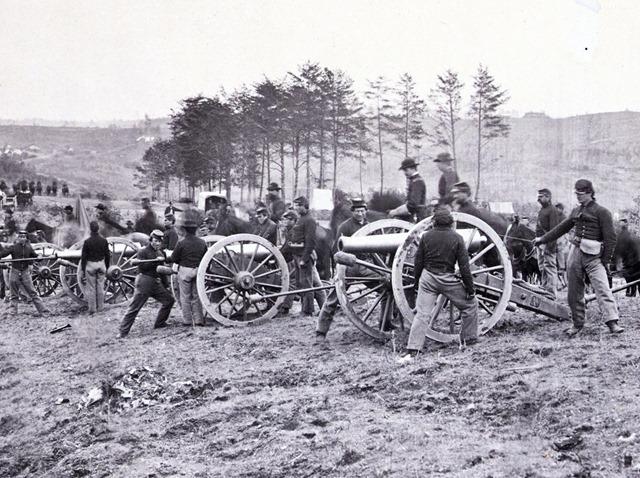 1st Connecticut Battery, near Fredericksburg, Va., May 2, 1863