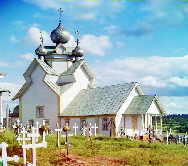 Assumption of the Mother of God Church in Deviatiny - 200 years old [Russian Empire]