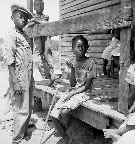 Eyes of the Great Depression - Mississippi Delta Negro children