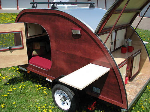 Big Woody teardrop trailer