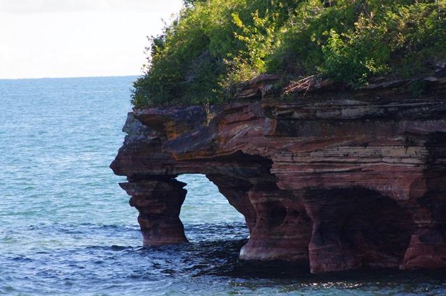 Apostle Island National Lakeshore, Wiscoansin, Apostle Island Cruises - Grand Tour, September 16, 2013
