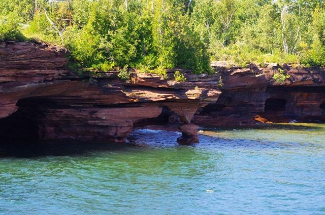 Apostle Island National Lakeshore, Wiscoansin, Apostle Island Cruises - Grand Tour, September 16, 2013 - 2