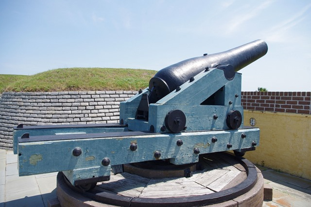 Fort Moultrie, Sullivan's Island, South Carolina, June 14, 2012 - 4