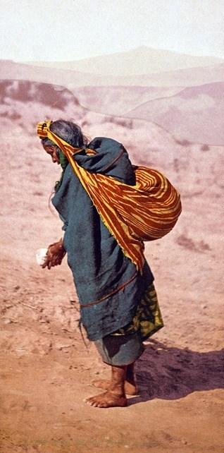 Patient Toil - Moki pueblos, Arizona (between 1898 and 1905)