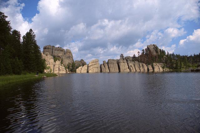 Sylvan Lake, Custer State Park, South Dakota, August 2014