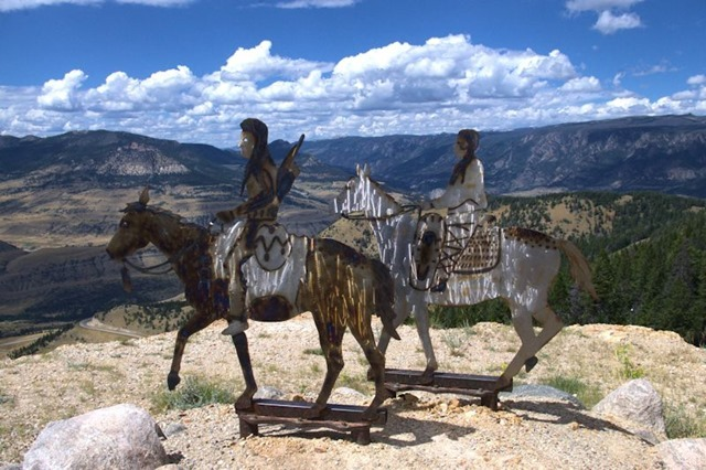 Dead Indian Pass in the Absaroka Range on Chief Joseph Highway, Wyoming, August 13, 2014
