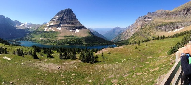 Hanging Gardens Trail to Hidden lake Overlook, Glacier National Park, Montana, August 27, 2014