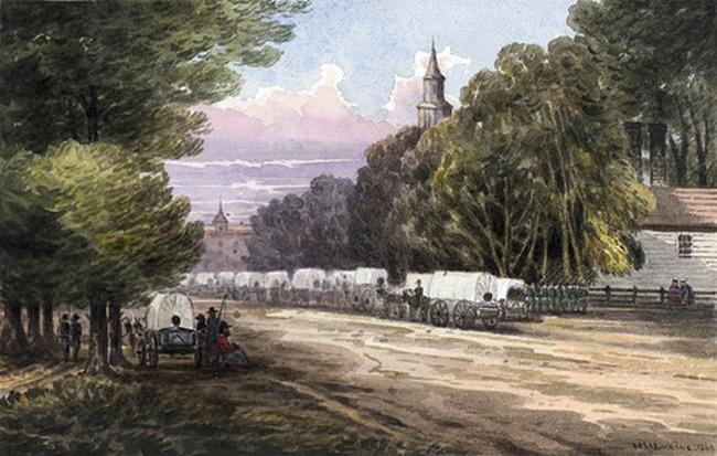 Williamsburg, Virginia, 1862