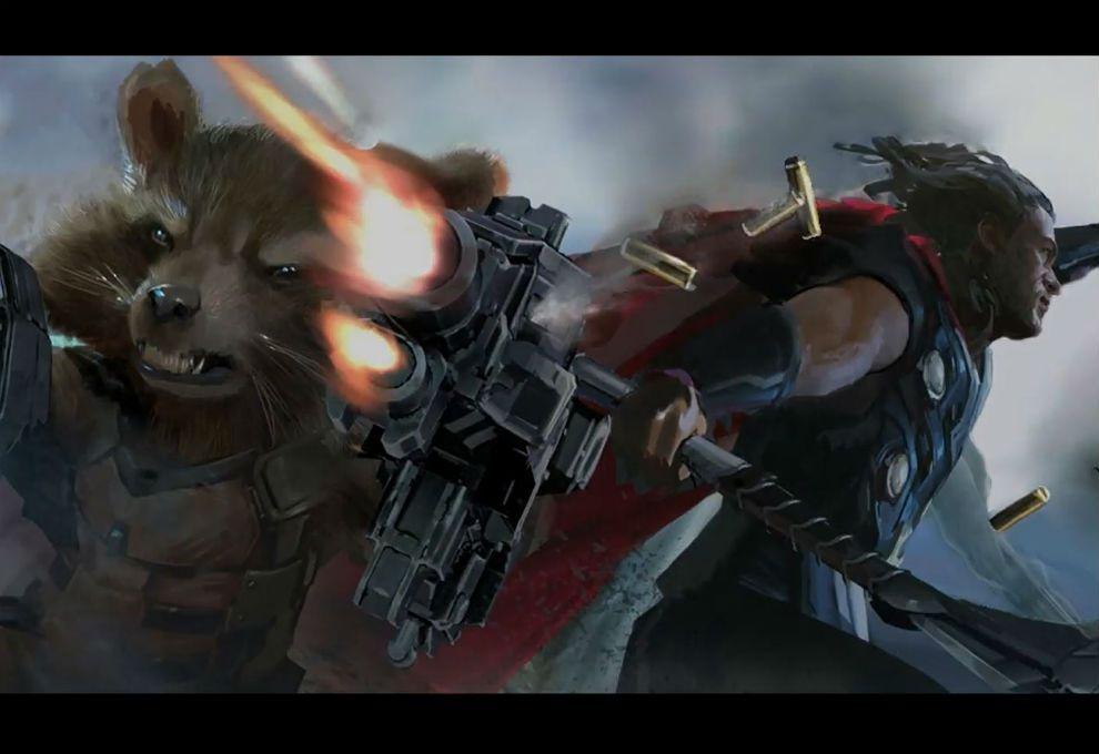 ¡Acción! Liberan primer avance de las grabaciones de Avengers: Infinity War