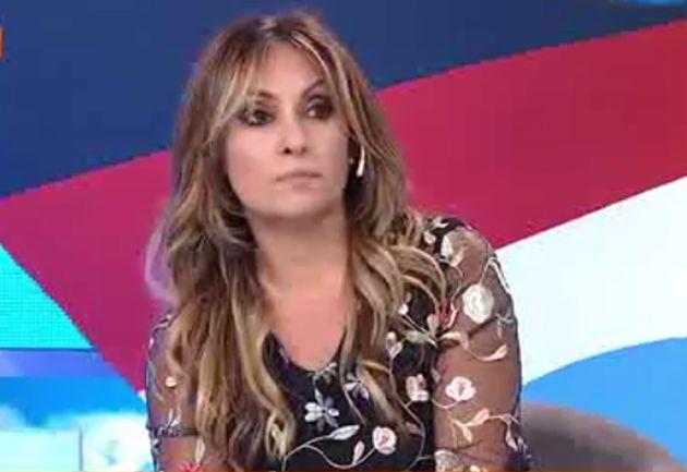 Marcela Tauro se fue llorando de Intrusos