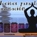 «Aceites esenciales para la meditación»