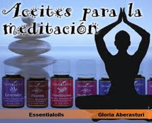 Aceites para la meditación